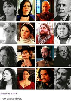 Lost characters on Once Upon aTime