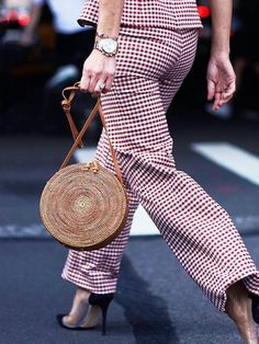 This season, basket bags are suddenly turning up on the arms of stylish city dwellers.