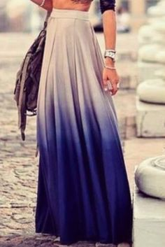 ombre chiffon skirt - love this look for the summer! http://www.trendsgal.com/p/wholesale-product-1166606.html?lkid=1859