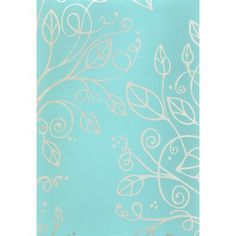 Bathroom wallpaper, Monsoon - Sophia, Teal - 17839 - Home Depot Canada