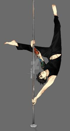 Stripper - Pole Dancer - Levi Ackerman - Attack on Titan - Shingeki no Kyojin - AU