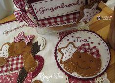 Hace unos días os enseñé el mug rug o mantelito   de este nuevo taller online  Ginger Tea.   Por cierto, estaba deseando acabarlo ya que...