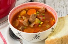 Old-Fashioned Vegetable Beef Soup | Genius Kitchen