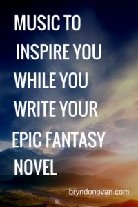 Writer Playlist: MUSIC TO INSPIRE YOU WHILE YOU WRITE YOUR EPIC FANTASY NOVEL. Over 2 hours of songs! #writing #playlist for writing #music for inspiration #NaNoWriMo