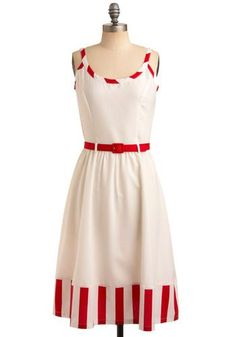 Cool Scent of Strawberries Dress. Just imagine the gorgeous red shoes I could find to match this.... My Style Check more at http://fashionie.top/pin/36119/