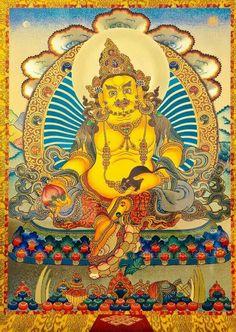 Yellow Jambhala (God of Wealth) │ 財富黃財神