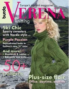 Журнал Verena knitting winter 2008.
