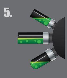 Eye of Error: Painting Realistic Fluid Filled Vials in 4 Easy Steps