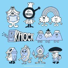 Happy Weekend!  今日もごきげんよう。明日もね。 Cute Illustration, Character Illustration, Character Concept, Character Design, Typographie Inspiration, Pop Characters, Cartoon Design, Vintage Cartoon, Kids Prints