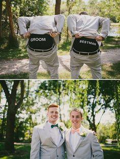 best man and groom underwear / http://www.deerpearlflowers.com/fun-groomsmen-photo-ideas-and-poses/