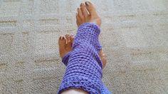 Yoga Socks Toeless Ballet Pilates Dance Warmers Crocheted