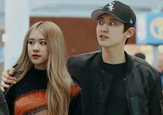 Exo Kai, Chanyeol, Kpop Couples, Blackpink Photos, Blackpink And Bts, Happy Reading, Best Couple, Jaehyun, My Idol