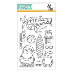 Simon Says Clear Stamps WARM CHRISTMAS WISHES sss101550 STAMPtember