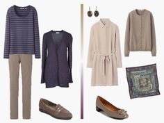 The Vivienne Files: Packing with Scarves: Purple and Taupe