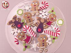Biscuit Noel - Christmas Cookies - Un Jeu d'Enfant Cake Design Nantes France