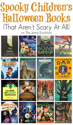 Spooky Children's Halloween Books That Aren't Scary At All   The Jenny Evolution
