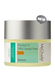 Perfect C™ PRO Speed Peel-Professional-level, one-step, one-minute, 10% L-Ascorbic Acid peel to brighten and rejuvenate the skin, revealing its radiance.  Do a patch test first,  this is powerfully effective!