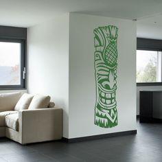 Tiki Totem 4 Wall Art Decal