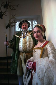 Acting the part: Henry VIII and Anne Boleyn