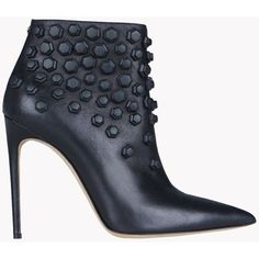Dsquared2 Ankle Boot ($675) ❤ liked on Polyvore featuring shoes, boots, ankle booties, black, black shootie, black ankle boots, zip ankle boots, black boots and black bootie