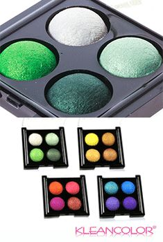Color Baked Eyeshadow Quad