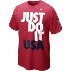 Nike Team USA T-Shirt Just Do It