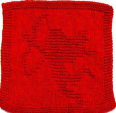 Knitting Cloth Pattern   CUPID     PDF by ezcareknits on Etsy, $3.00