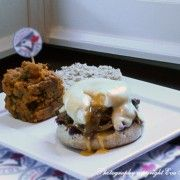 The SportsGlutton MLB Recipe Serioes: Toronto Blue Jays: Canadian Whiskey BBQ Sauce Pulled Pork Benny and Homerun-fries