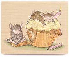 House Mouse - Birthday Cupcake