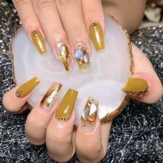 Nail Designs Easy Diy, Mauve Nails, Queen Nails, Korean Nails, Nail Designs Pictures, Sparkle Nails, Best Acrylic Nails, Fabulous Nails, Creative Nails