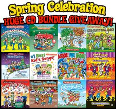 HUGE CD BUNDLE GIVEAWAY!  Enter to WIN 12 Learning Station CD's!  Each CD includes a booklet with lyrics and actions. These songs are great for brain breaks, morning meeting, circle time, group activities and indoor recess ($180.00 Retail Value)  #giveaway