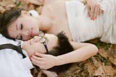 sydney autumn prewedding session
