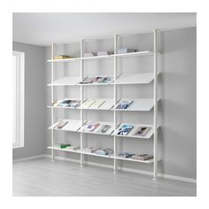IKEA - ELVARLI, 3 sections, You can always adapt or complete this open storage solution as needed.