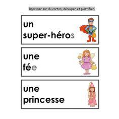 Mon déguisement mathématiques et français