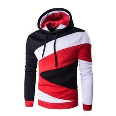 3994a05375bf New Spring Autumn Mens Casual Slim Fit Hooded Hoodies Sweatshirt Sport