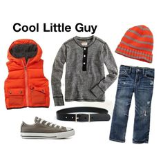 """Cool Little Guy"" by onelittlemomma on Polyvore"