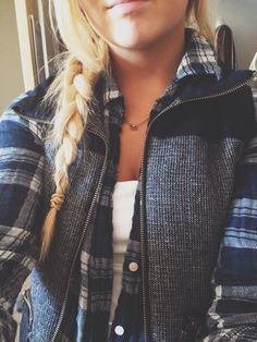 Cozy flannels and braid