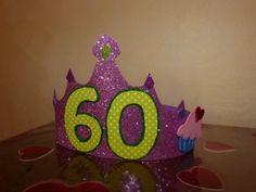 corona compleanno gomma crepla - foamy birthday crown - corona de cumple en goma eva