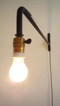 Minimalistische Wandlampe LoftlampeDrehschalterIndustrie In Berlin