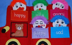 emotions quiet book - Re-pinned by @PediaStaff – Please Visit http://ht.ly/63sNt for all our pediatric therapy pins