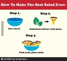 9GAG - Best Salad Ever!