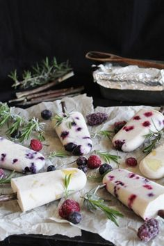Recipe for Fruit Popsicles with Coconut Milk - This delicious recipe is going to make you so happy. They are almost too easy to make and almost too good to eat. Of course, I made and ate them anyway. You should too.