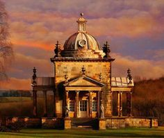 Temple of four winds, Castle Howard, North Yorkshire
