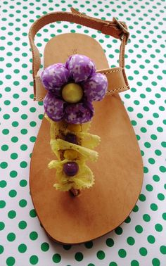 A personal favorite from my Etsy shop https://www.etsy.com/listing/178596729/handmade-leather-sandals-for-girls-and