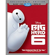 Big Hero 6 Collector's Edition Combo Pack with FREE Lithograph Set Offer