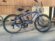 58ef643340a66 Used blue and black cruiser bike for sale in 32578 - letgo Bikes For Sale