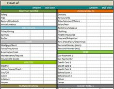 New Business Budget Template. 15 financial statement templates for ...