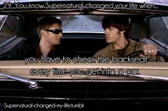 Submitted by:itstooperfect- that's not a new habit either, but now it does make me thing of SPN