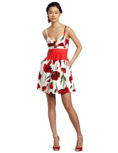 Amazon.com: Jessica Simpson Women's Bow Bodice Full Skirt Dress: Clothing