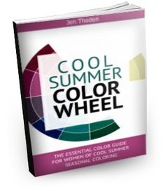 Cool Summer Style Guide - Discover how to wear your cool summer colors through the use of the cool summer color wheel and color combinations. Lots of inspiration! Click to learn more...